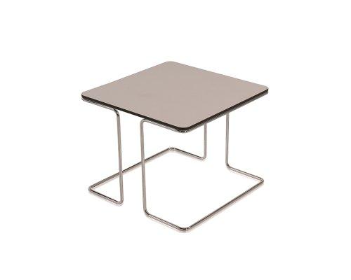 Pano Square Chrome Leg Coffee Table