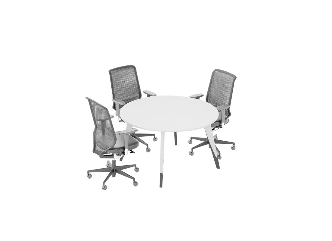 Trend Boyalı Ayaklı Toplantı Masası 2
