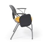Desire Gri Boyalı Kolçaklı, Pls Yazı Sehpalı, Gri Boyalı Ayak, Konferans Sandalye
