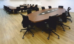Spes So Oval Laminant Toplantı Masası