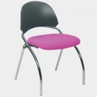 Desire Krom Ayaklı Kolçaksız Sandalye