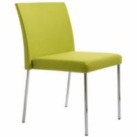 Joya Krom Ayaklı Kolsuz Sandalye
