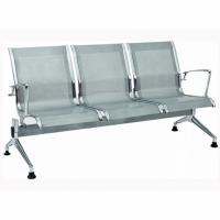 Airport Alm. Kollu- Ayaklı Üçlü Bekleme Koltuğu