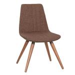 Maki Sandalye Ahşap Metal Dörtlü Ayaklı