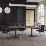 Brava 200´lük Boyalı Flanş Ayaklı Toplantı Masası