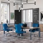 Elips 180´lik Toplantı Masası