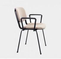 Forum Boyalı Ayak Kolçaklı Sandalye
