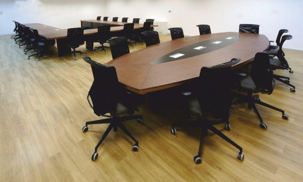 Spes So Oval 300´lük Ahşap Toplantı Masası