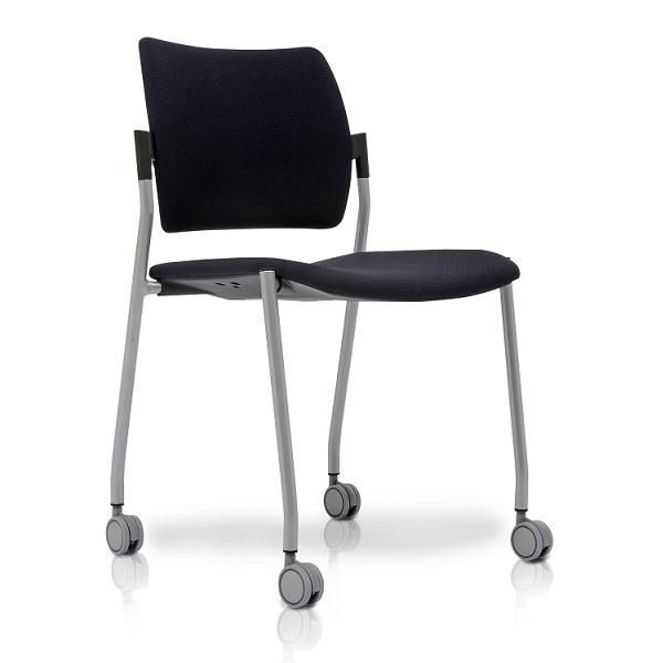 Dream Boyalı Ayak Kolçaksız Dört Tekerlekli Toplantı Koltuğu