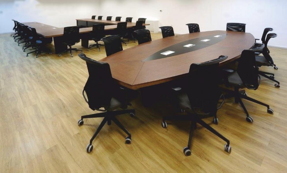 Spes So Oval 440´lık Ahşap Toplantı Masası