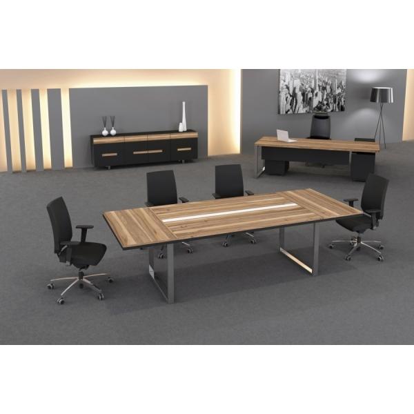 Pi Desk 240´lık Ahşap Toplantı Masası