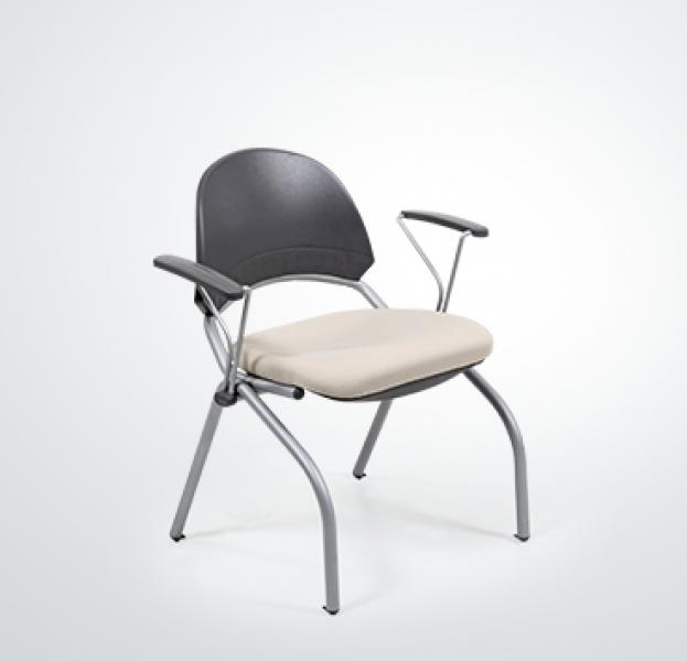 Desire Gri Boyalı Ayak Ve Kolçaklı Sandalye