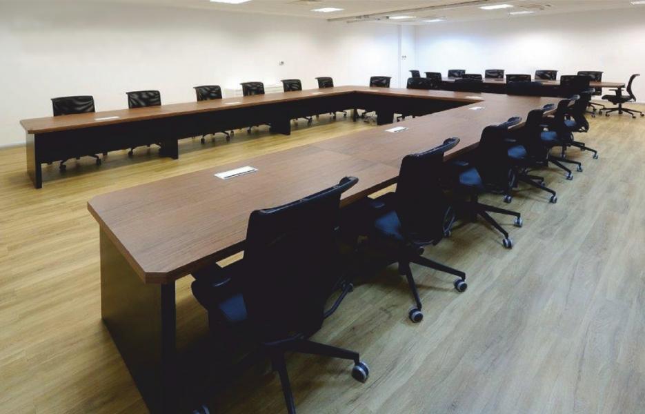 Spes So U Ahşap Toplantı Masası