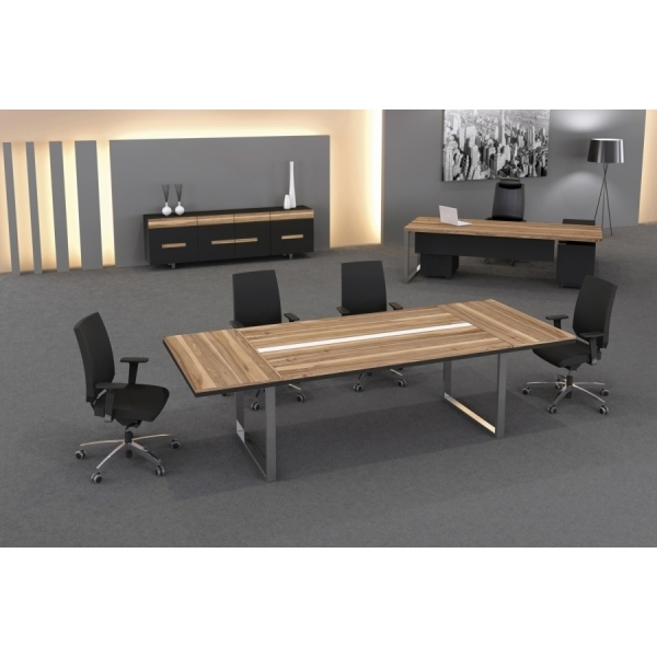 Pi Desk 280´lik Ahşap Toplantı Masası